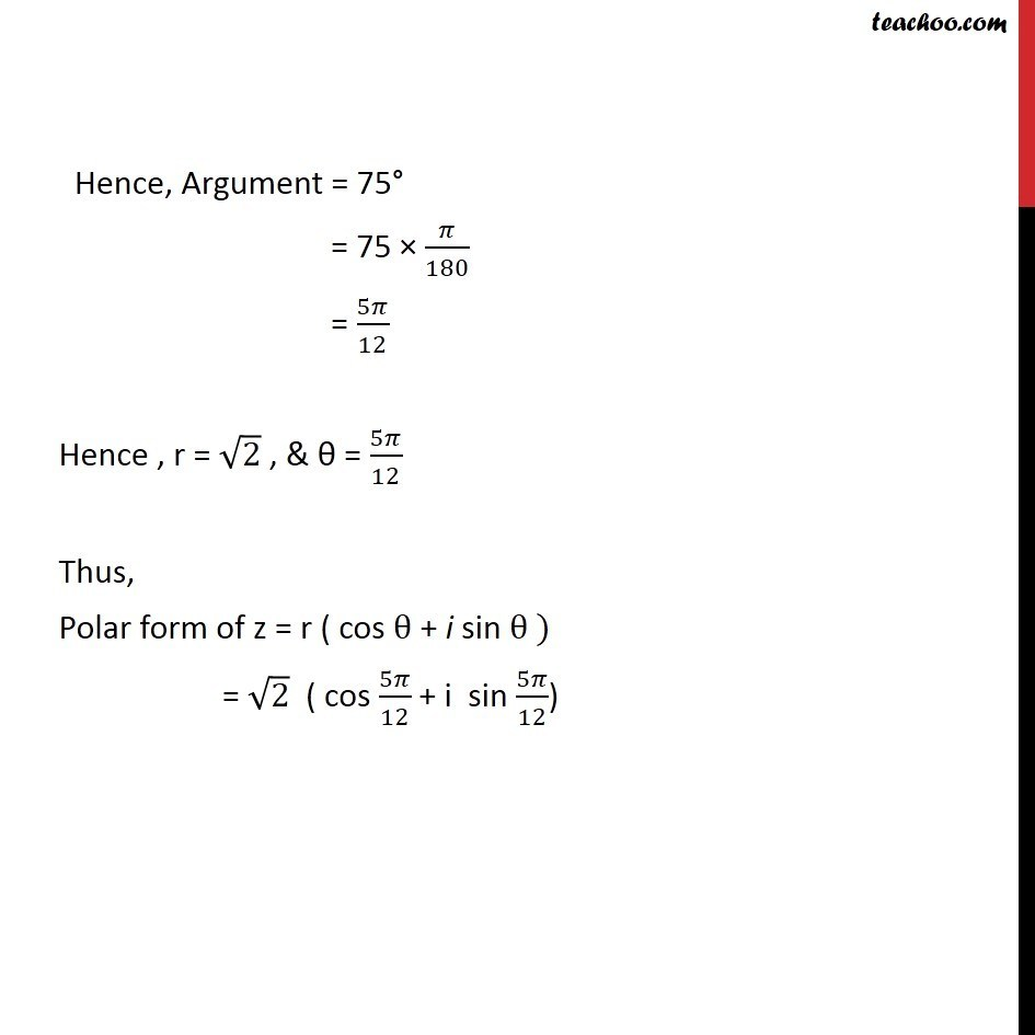 Example 16 - Chapter 5 Class 11 Complex Numbers - Part 9