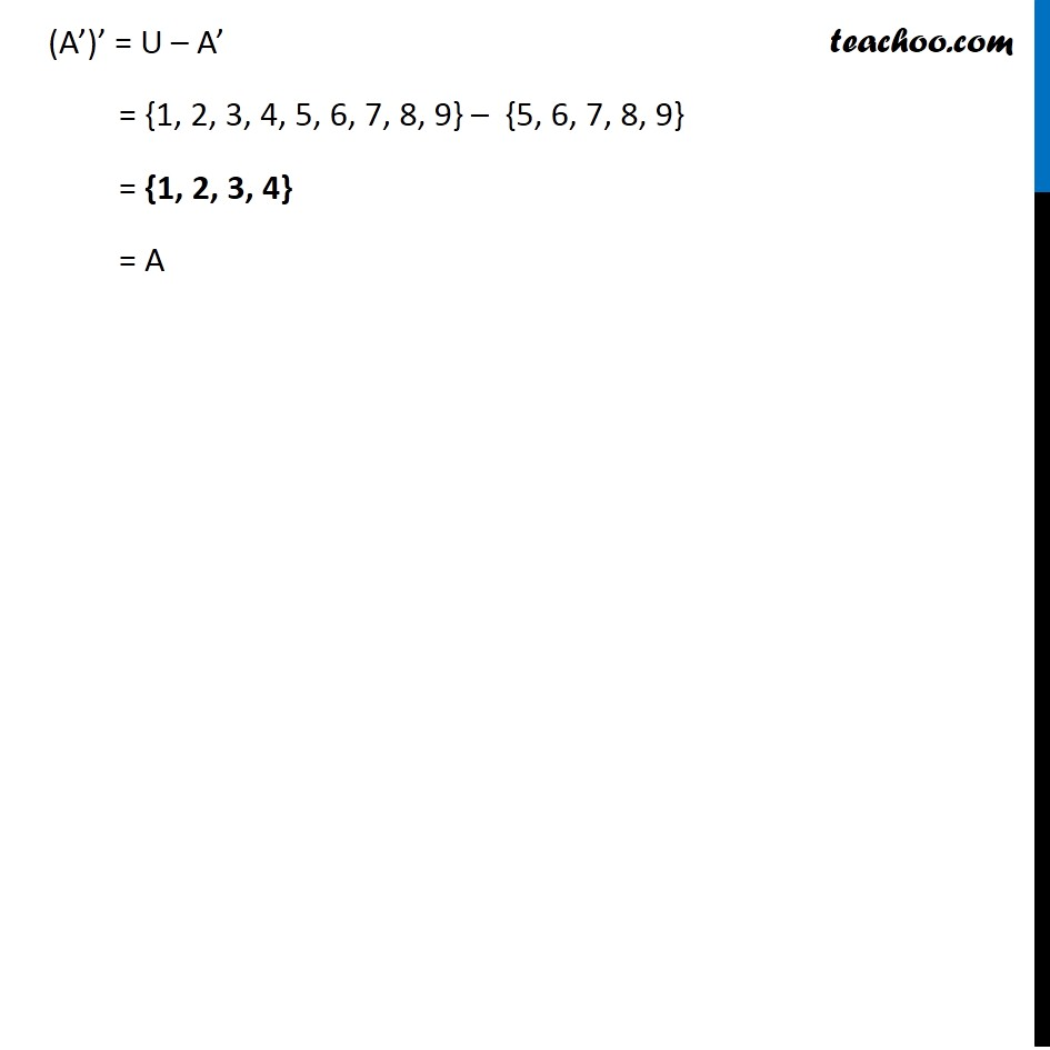 Ex 1.5, 1 - Chapter 1 Class 11 Sets - Part 11