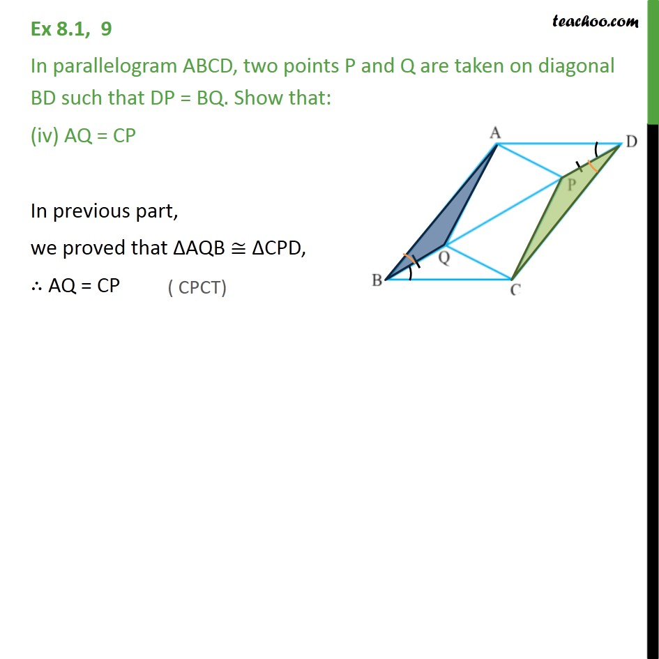 Ex 8.1, 9 - Chapter 8 Class 9 Quadrilaterals - Part 4