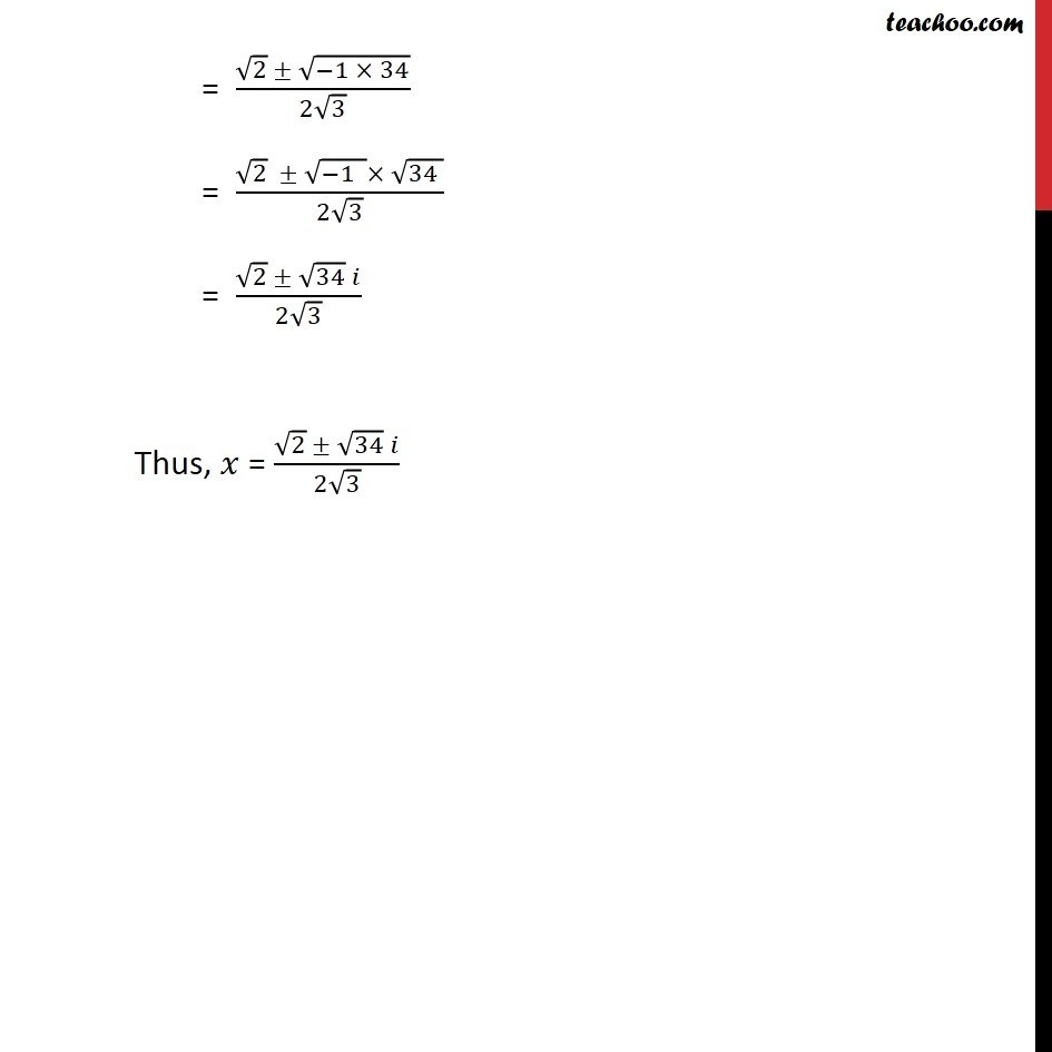 Ex 5.3, 8 - Chapter 5 Class 11 Complex Numbers - Part 2