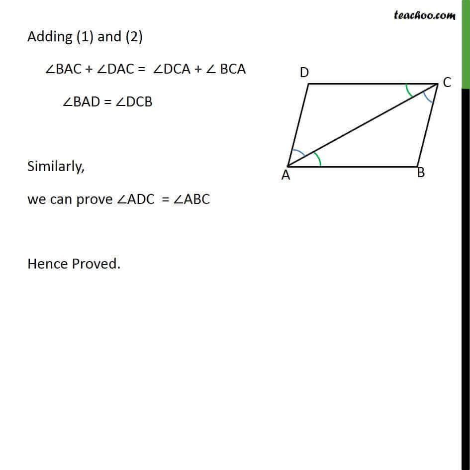 Theorem 8.4 - Chapter 8 Class 9 Quadrilaterals - Part 2