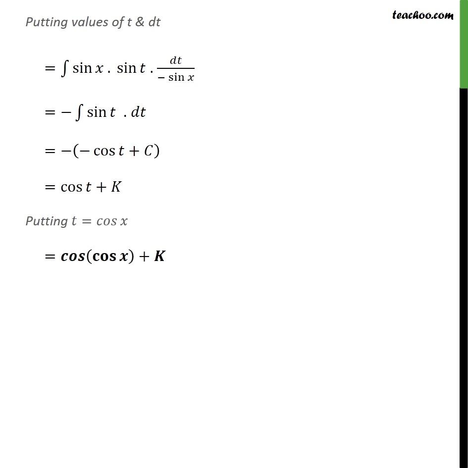 Ex 7.2, 4 - Chapter 7 Class 12 Integrals - Part 2