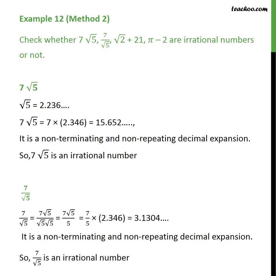Example 12 - Chapter 1 Class 9 Number Systems - Part 4