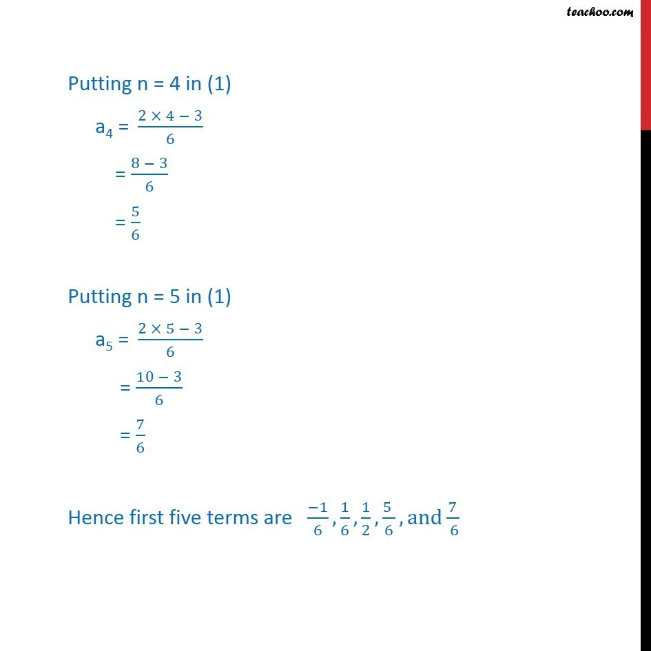 Ex 9.1,4 - Chapter 9 Class 11 Sequences and Series - Part 3