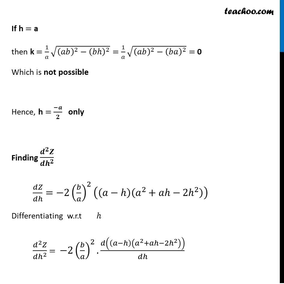 Misc 8 - Chapter 6 Class 12 Application of Derivatives - Part 9