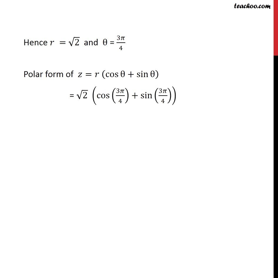 Misc 5 - Chapter 5 Class 11 Complex Numbers - Part 8