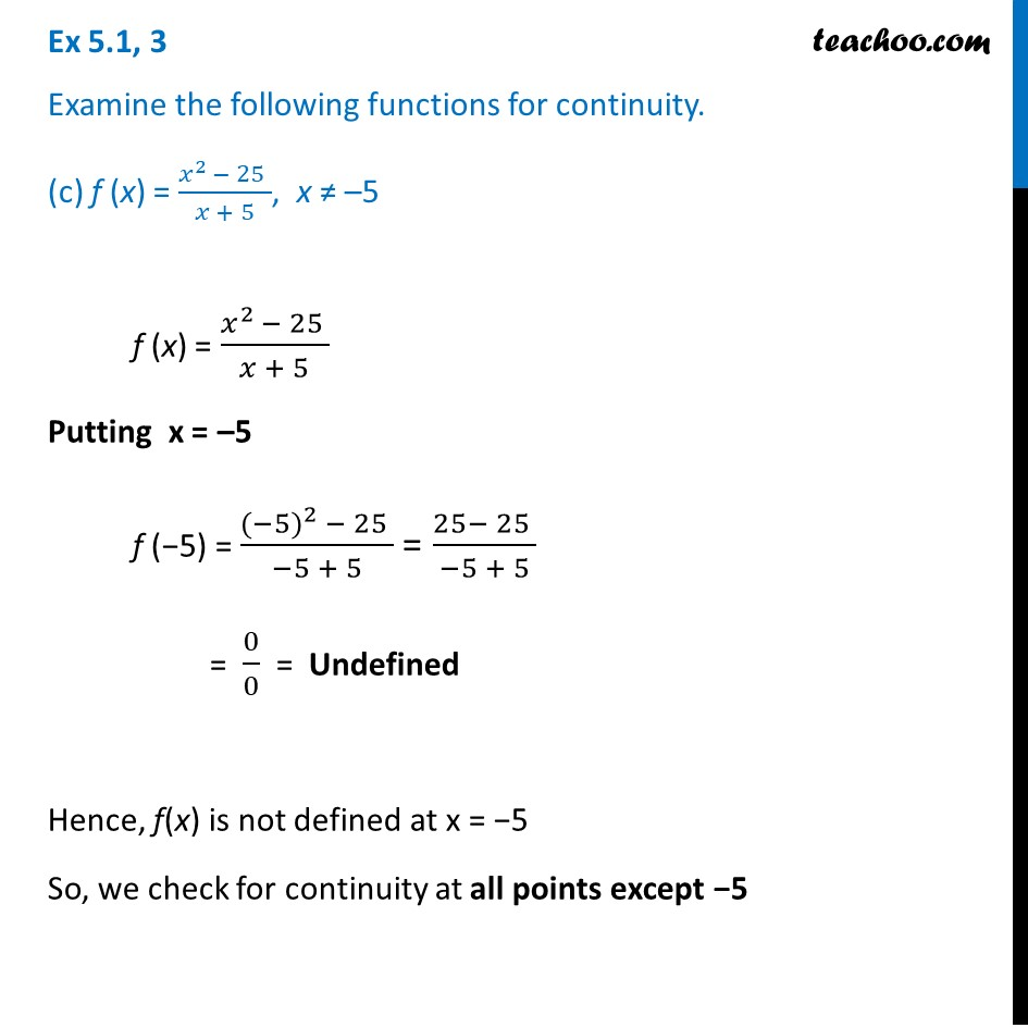 Ex 5.1 ,3 - Chapter 5 Class 12 Continuity and Differentiability - Part 5