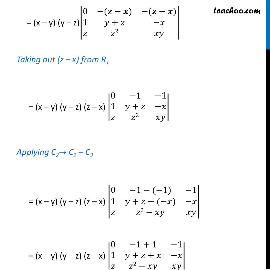Ex 4.2, 9 - Chapter 4 Class 12 Determinants - Part 4