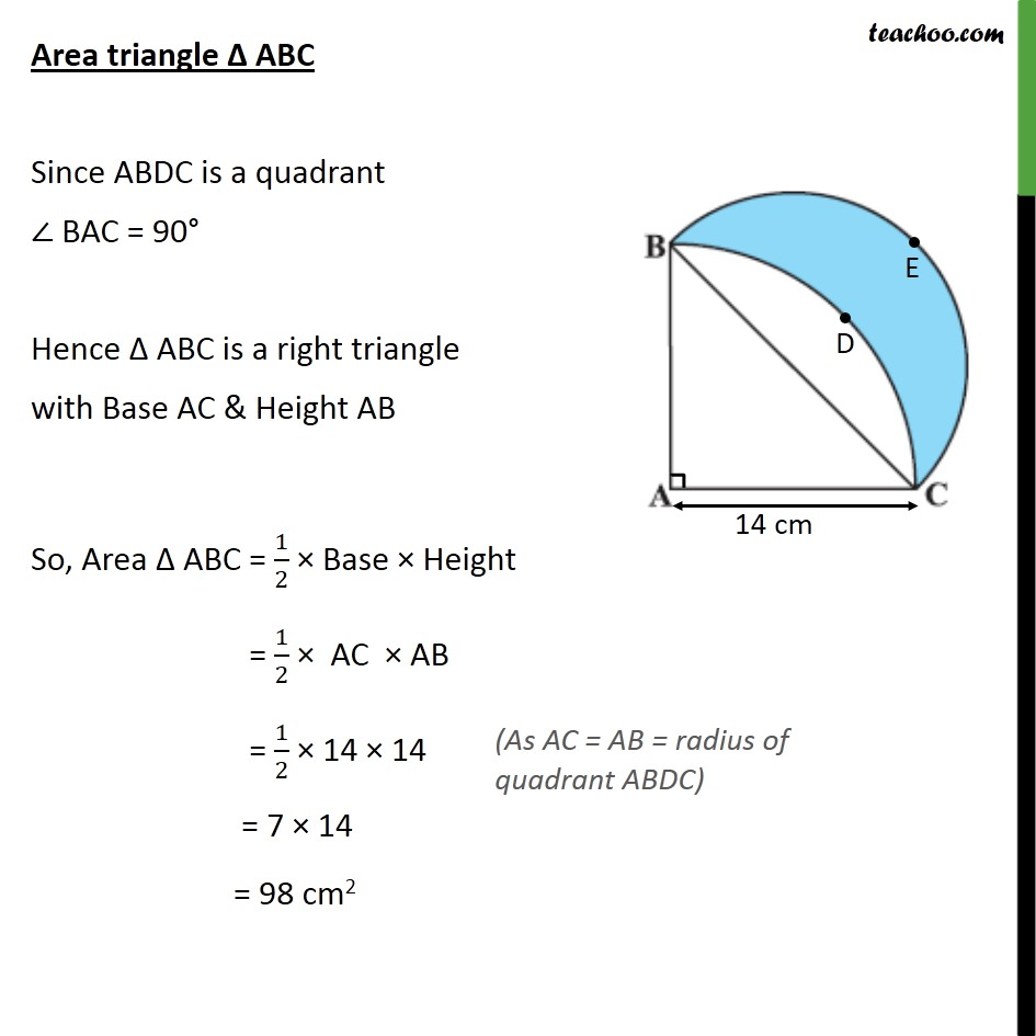 Ex 12.3, 15 - Chapter 12 Class 10 Areas related to Circles - Part 2