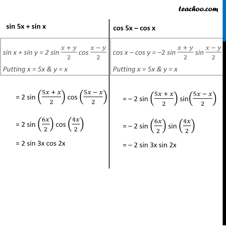 Example 17 - Chapter 3 Class 11 Trigonometric Functions - Part 2