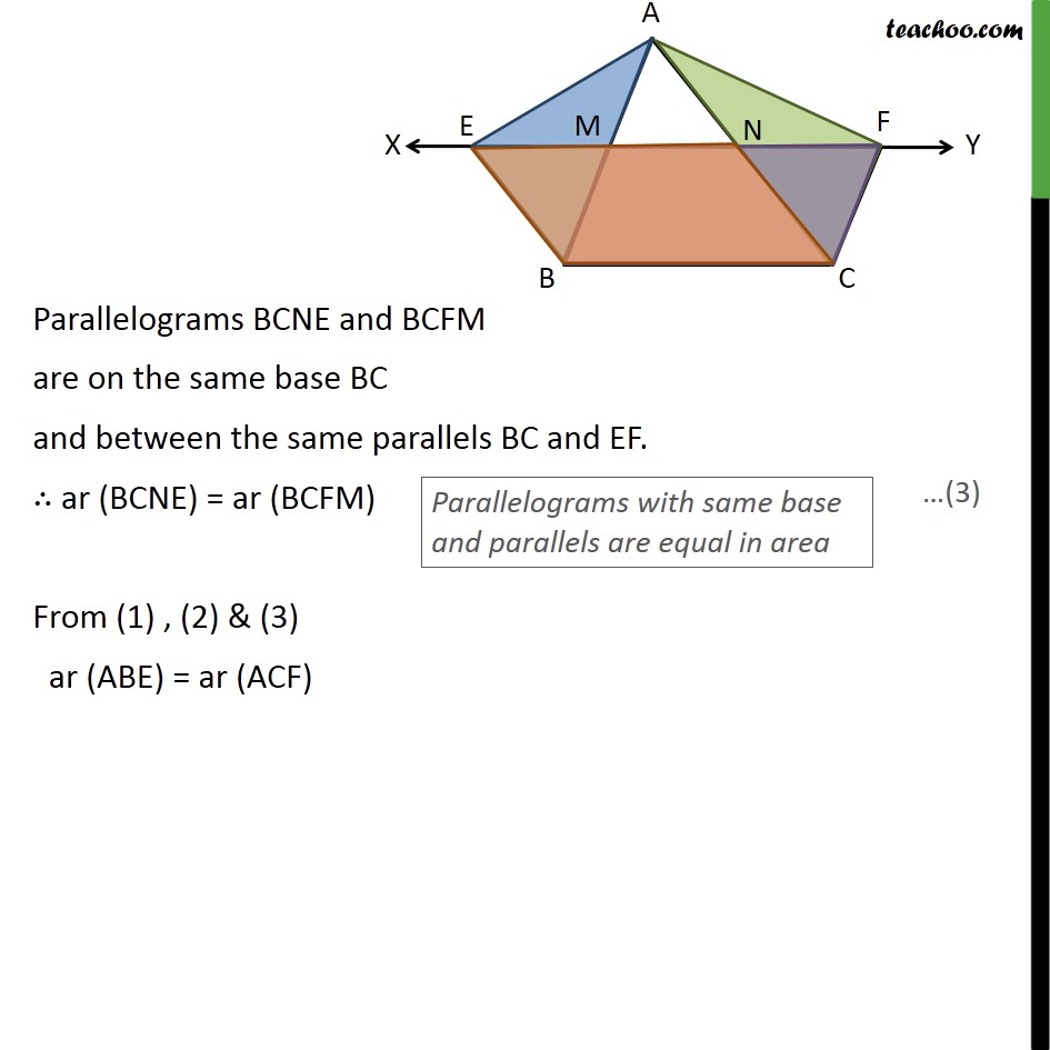 Ex 9.3, 8 - Chapter 9 Class 9 Areas of Parallelograms and Triangles - Part 3