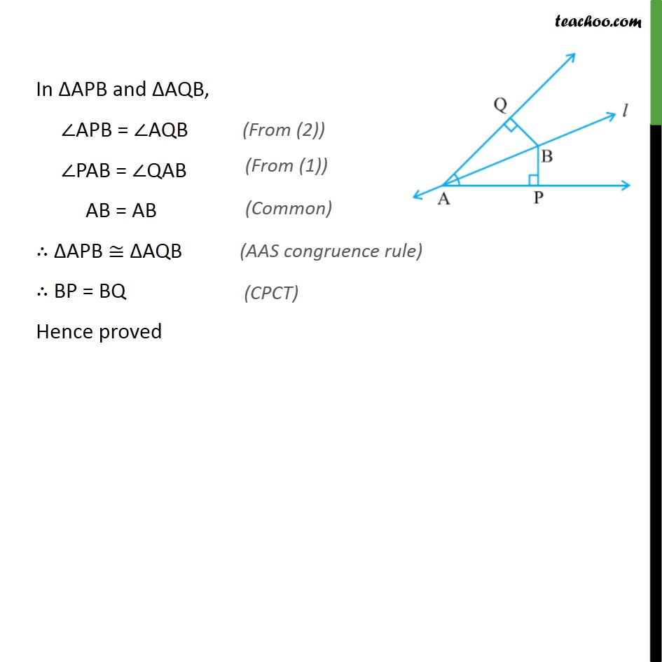 Ex 7.1, 5 - Chapter 7 Class 9 Triangles - Part 2