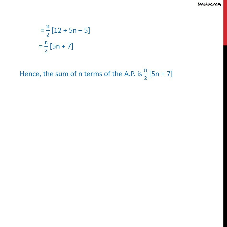 Ex 9.2, 7 - Chapter 9 Class 11 Sequences and Series - Part 3