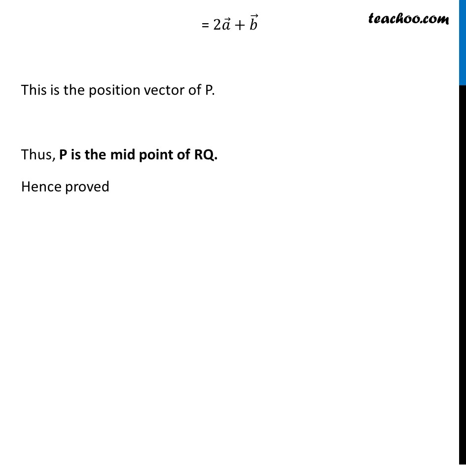 Misc 9 - Chapter 10 Class 12 Vector Algebra - Part 3