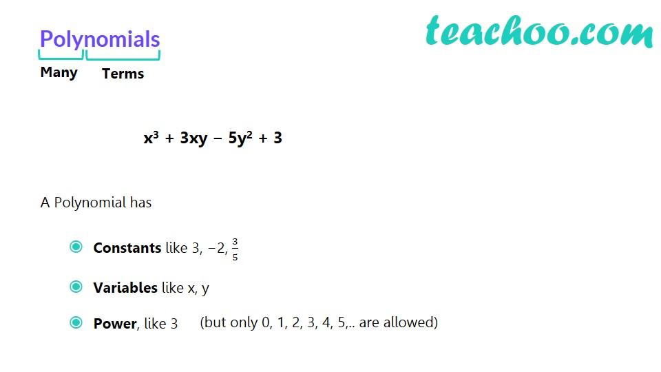 Polynomials - Part 8