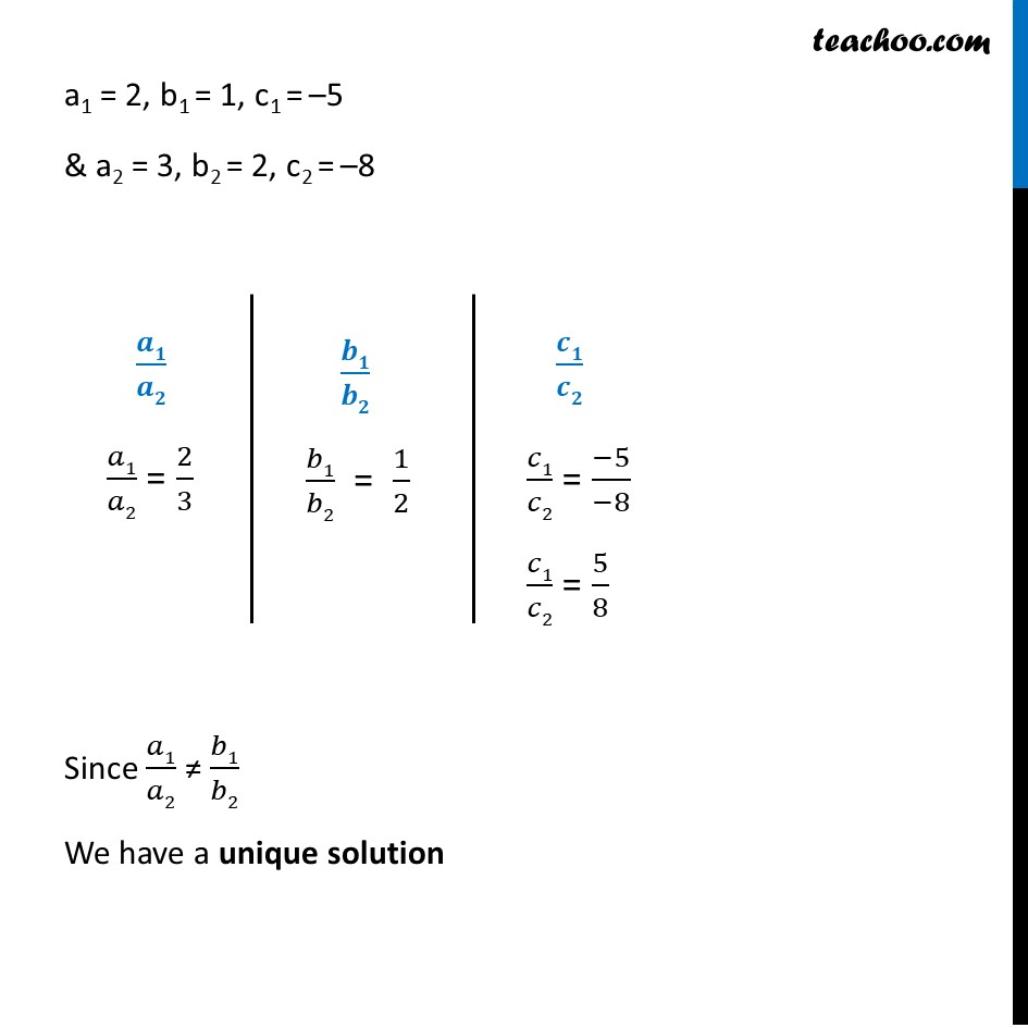Ex 3.5, 1 - Chapter 3 Class 10 Pair of Linear Equations in Two Variables - Part 4