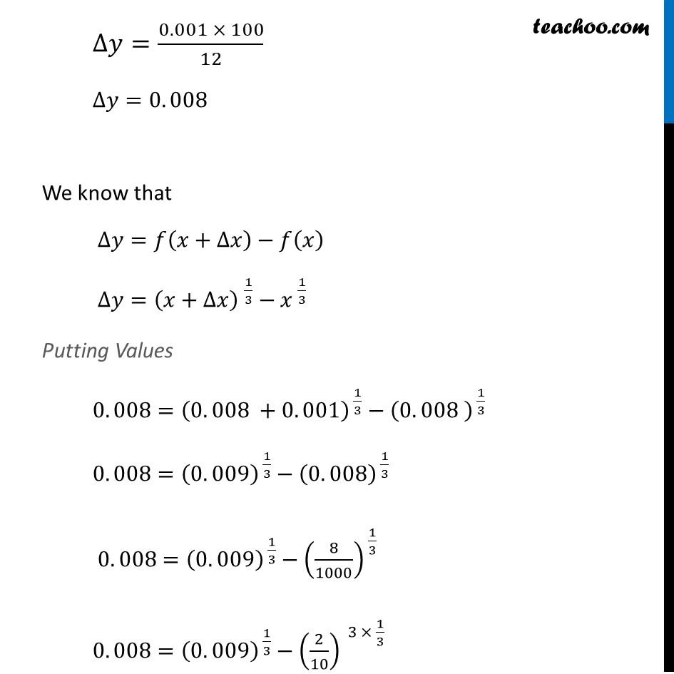 Ex 6.4, 1 (iv) - Chapter 6 Class 12 Application of Derivatives - Part 3