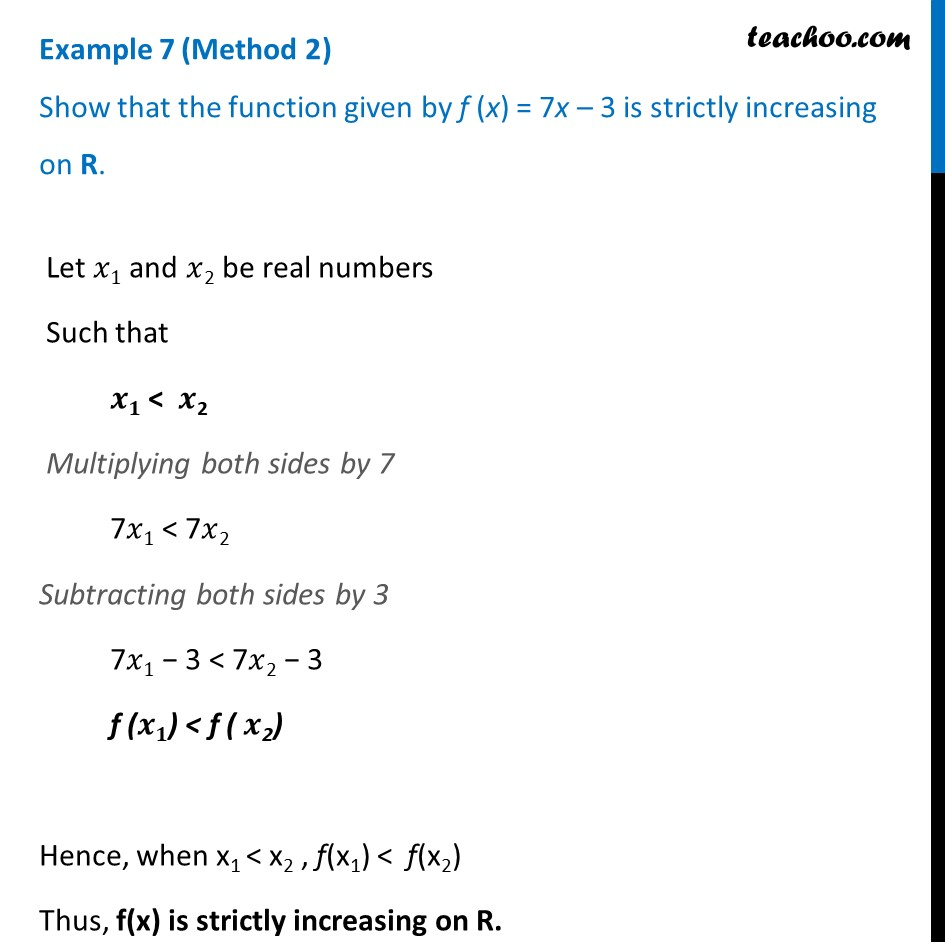 Example 7 - Chapter 6 Class 12 Application of Derivatives - Part 2