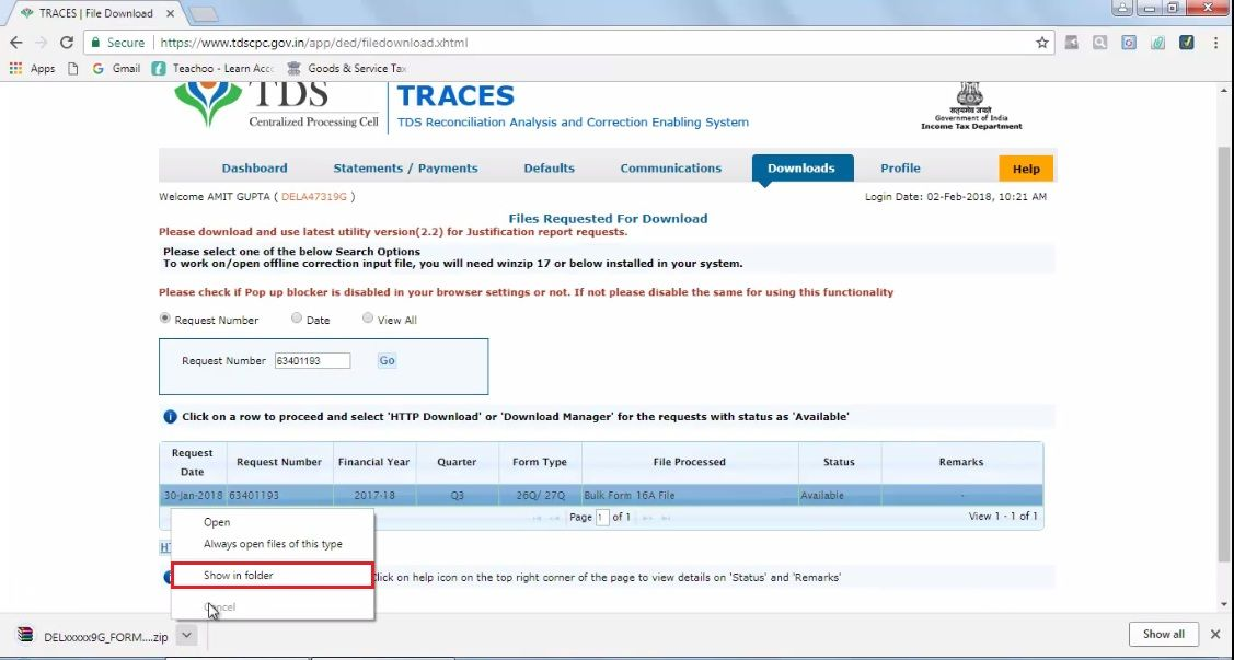 How to Download and Prepare TDS Certificates - Issue of Certificates