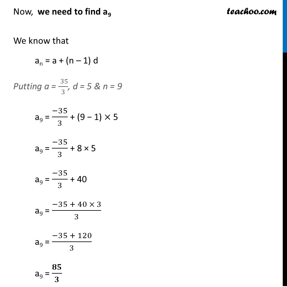 Ex 5.3, 3 - Chapter 5 Class 10 Arithmetic Progressions - Part 12