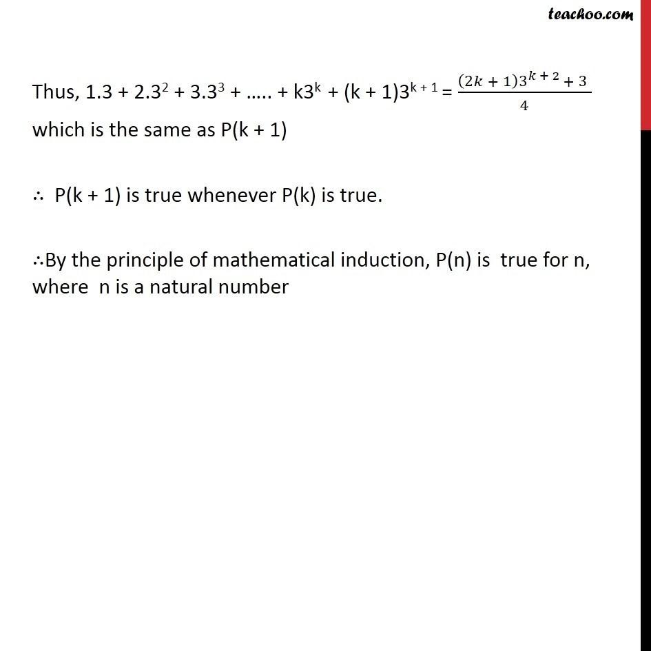Ex 4.1, 5 - Chapter 4 Class 11 Mathematical Induction - Part 4