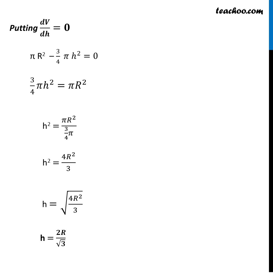 Misc 17 - Chapter 6 Class 12 Application of Derivatives - Part 4