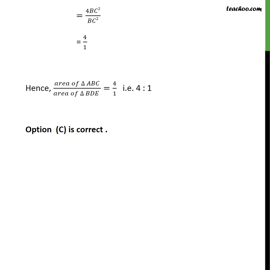 Ex 6.4, 8 - Chapter 6 Class 10 Triangles - Part 4