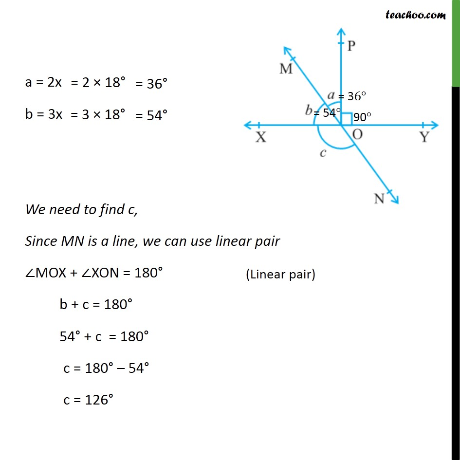 Ex 6.1,2 - Chapter 6 Class 9 Lines and Angles - Part 2