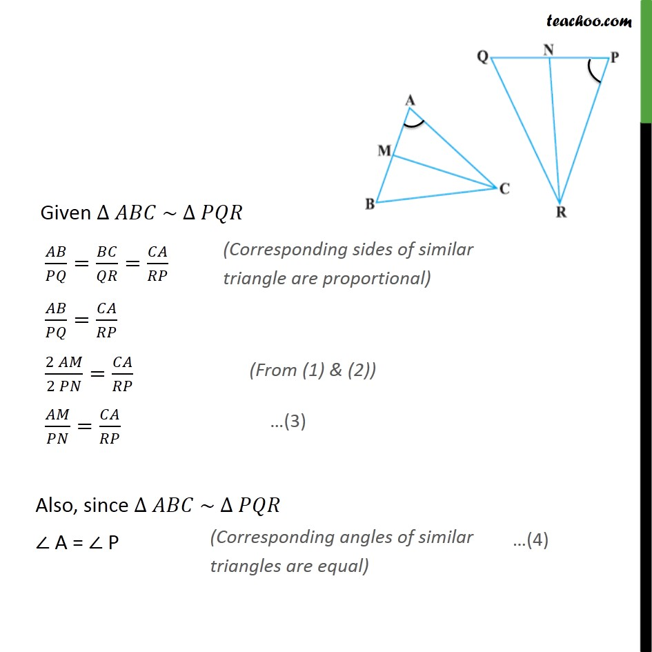 Example 8 - Chapter 6 Class 10 Triangles - Part 2