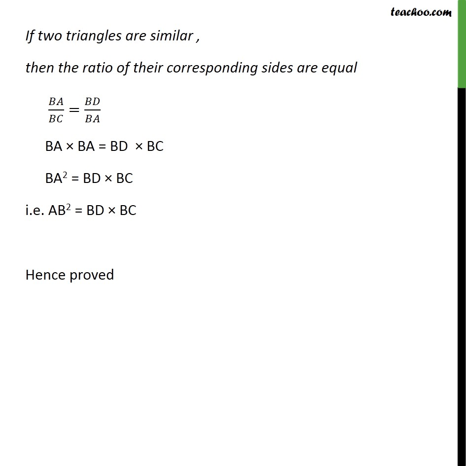 Ex 6.5, 3 - Chapter 6 Class 10 Triangles - Part 2