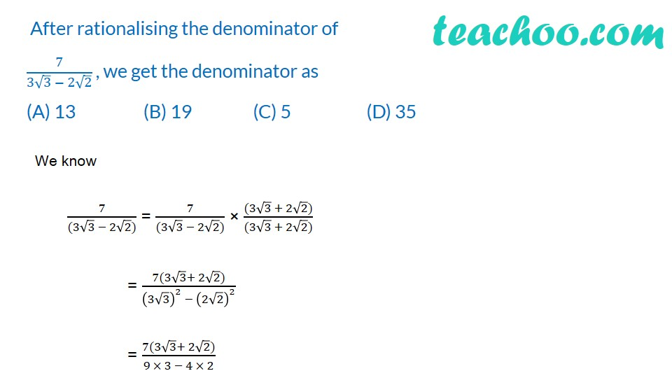 Multiple Choice Questions - Chapter 1 Class 9 Maths - Part 3