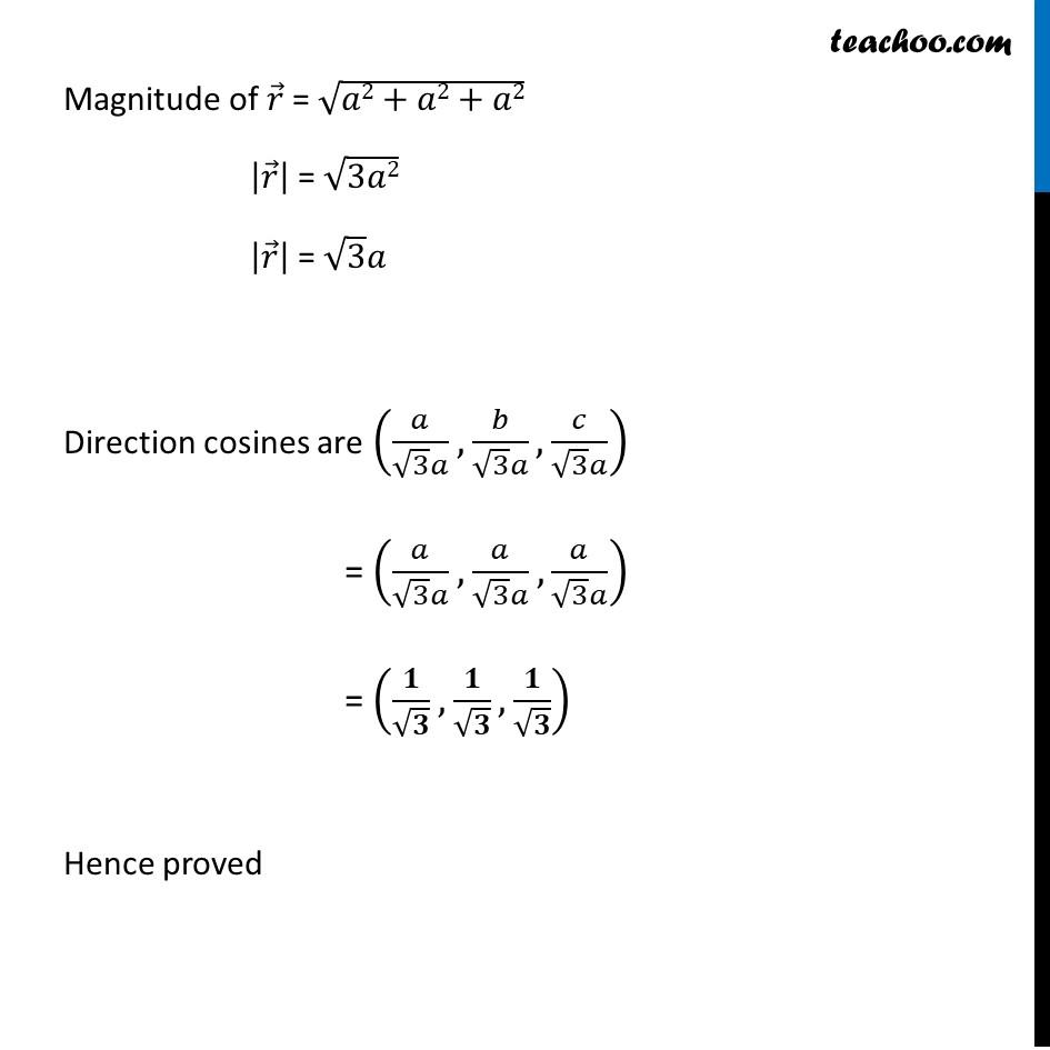 Misc 11 - Chapter 10 Class 12 Vector Algebra - Part 2