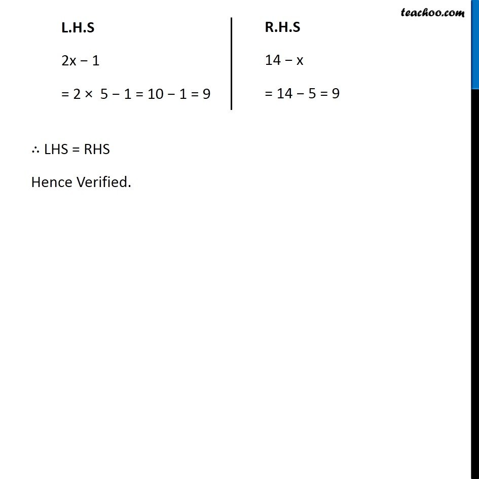 Ex 2.3, 5 - Chapter 2 Class 8 Linear Equations in One Variable - Part 2