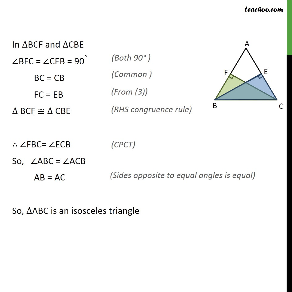 Ex 7.3, 4 - Chapter 7 Class 9 Triangles - Part 2
