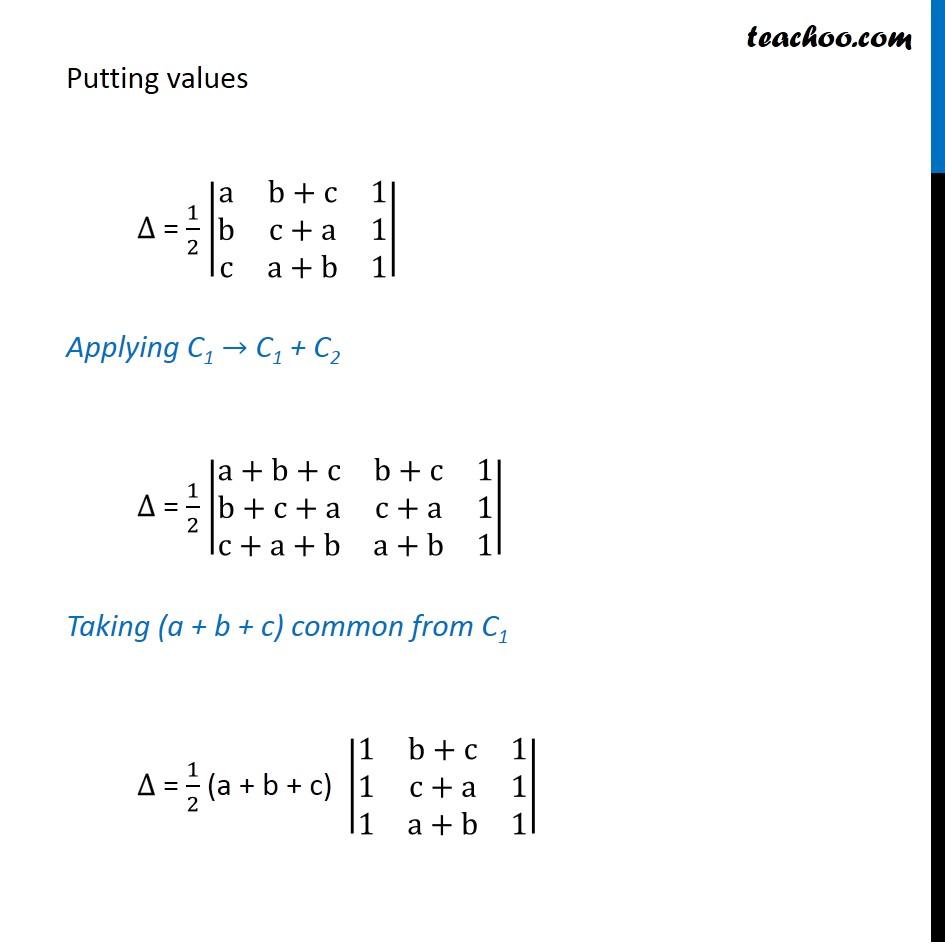 Ex 4.3, 2 - Chapter 4 Class 12 Determinants - Part 3