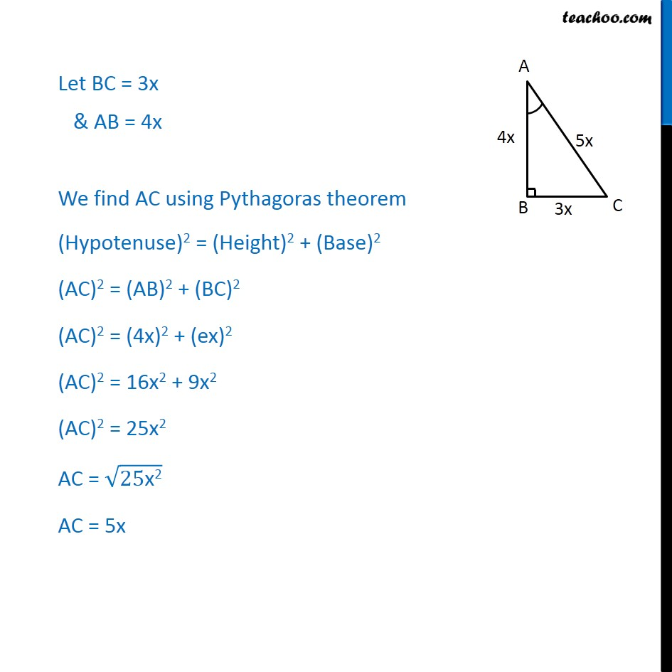 Ex 8.1, 8 - Chapter 8 Class 10 Introduction to Trignometry - Part 2