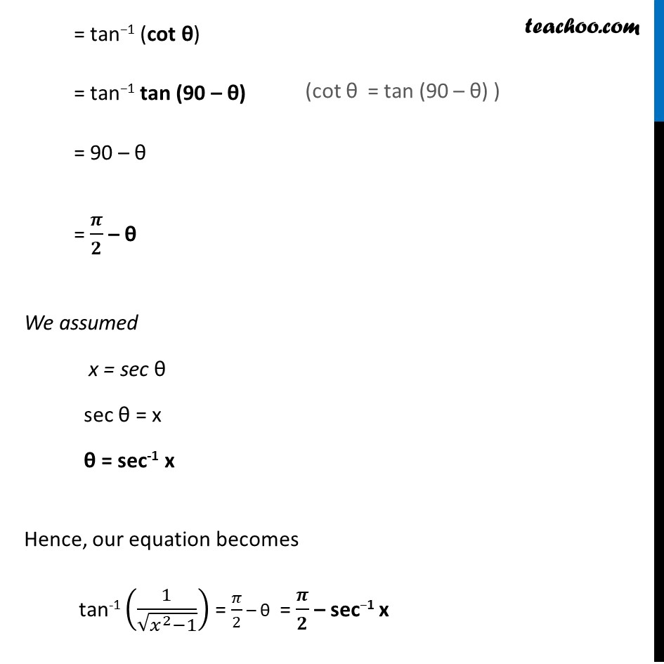 Ex 2.2, 6 - Chapter 2 Class 12 Inverse Trigonometric Functions - Part 2