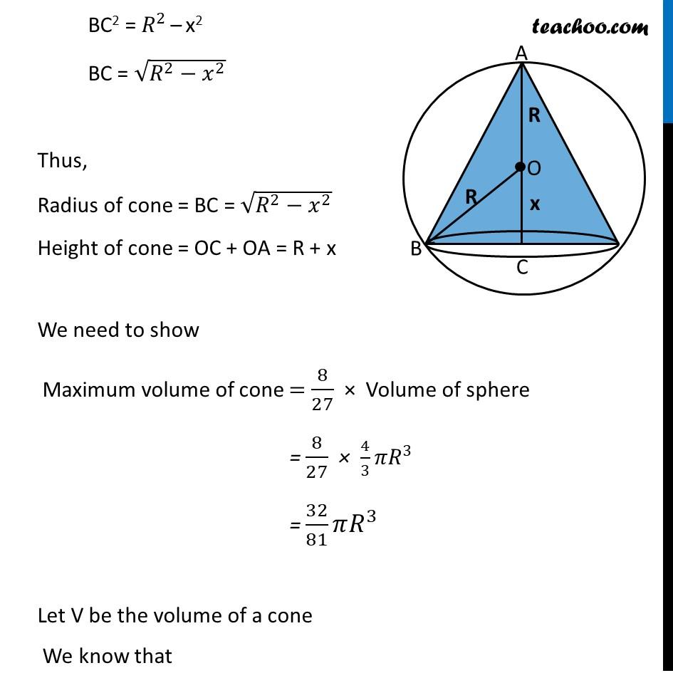 Ex 6.5,23 - Chapter 6 Class 12 Application of Derivatives - Part 2
