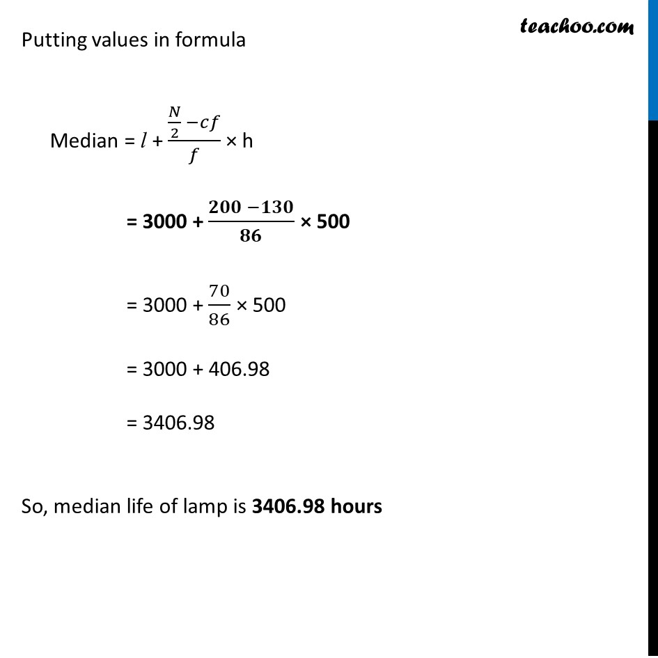 Ex 14.3, 5 - Chapter 14 Class 10 Statistics - Part 3