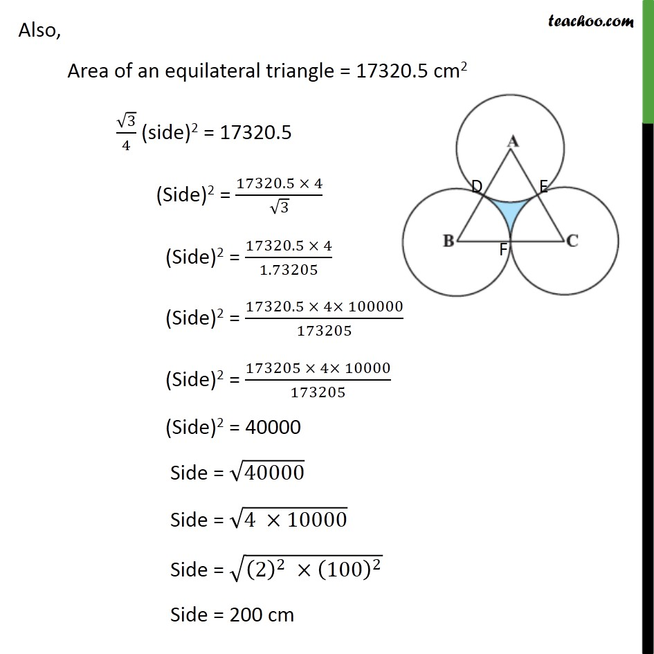 Ex 12.3, 10 - Chapter 12 Class 10 Areas related to Circles - Part 2