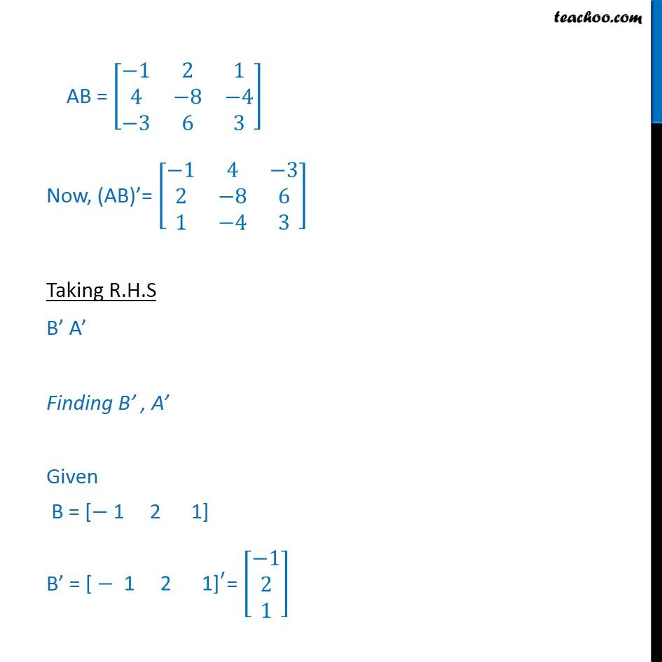Ex 3.3, 5 - Chapter 3 Class 12 Matrices - Part 2