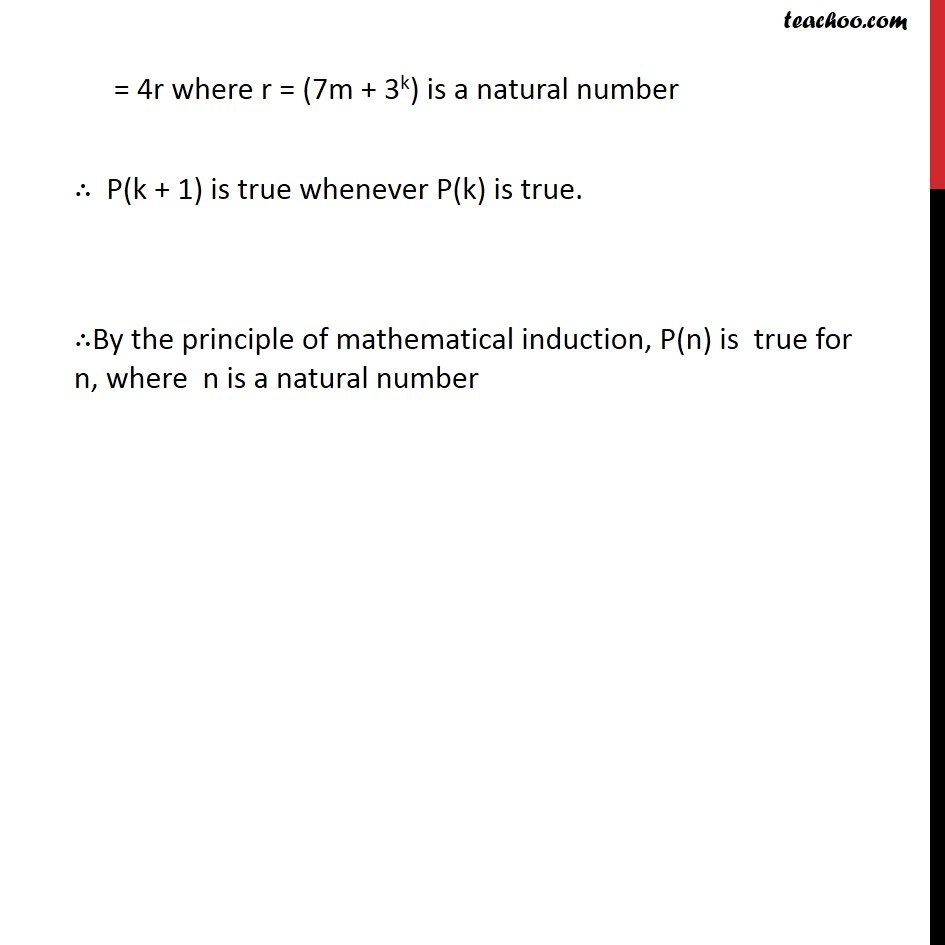 Example 4 - Chapter 4 Class 11 Mathematical Induction - Part 4