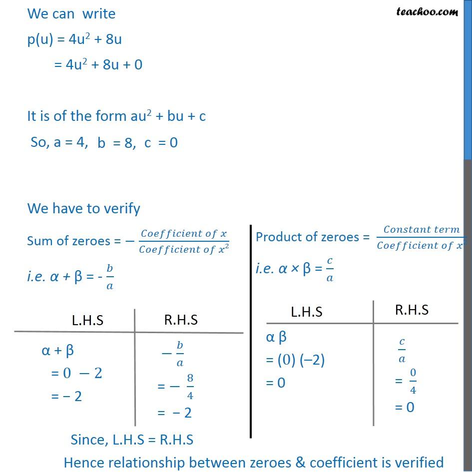 Ex 2.2, 1 - Chapter 2 Class 10 Polynomials - Part 8