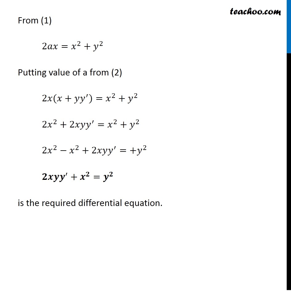 Ex 9.3, 6 - Chapter 9 Class 12 Differential Equations - Part 3