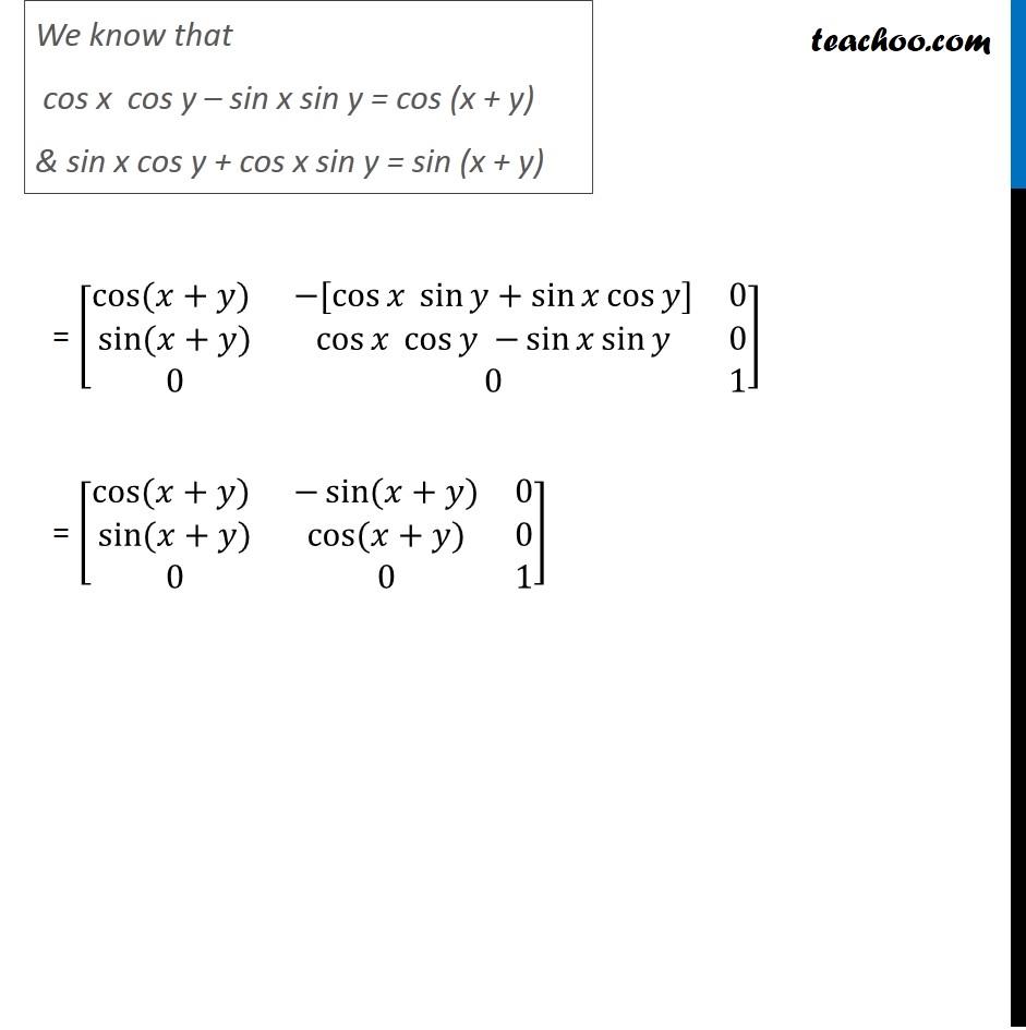 Ex 3.2, 13 - Chapter 3 Class 12 Matrices - Part 3
