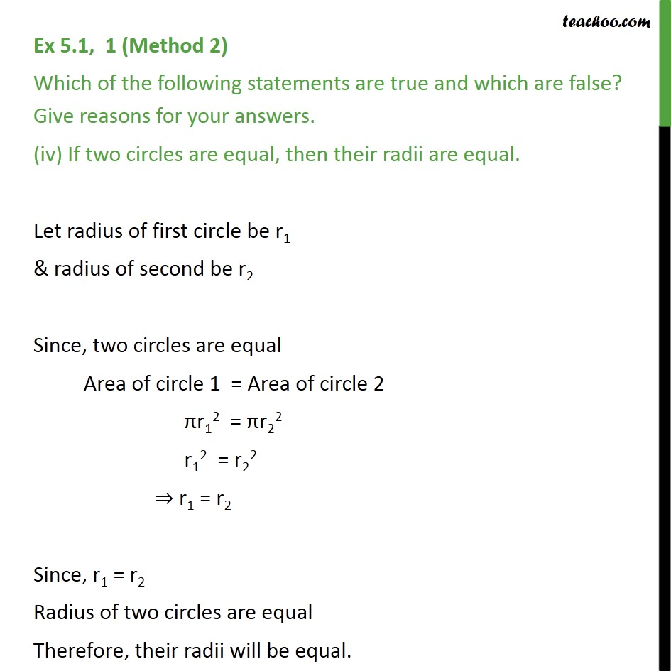 Ex 5.1, 1 - Chapter 5 Class 9 Introduction to Euclid's Geometry - Part 5