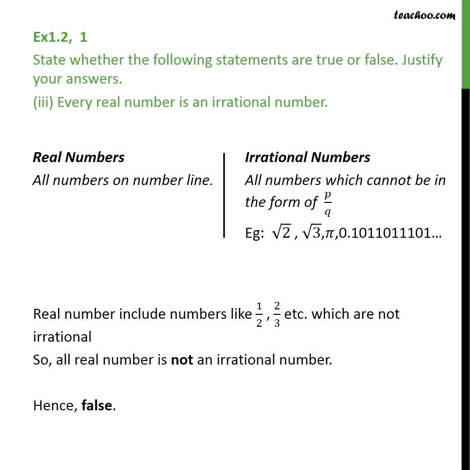 Ex 1.2,1 - Chapter 1 Class 9 Number Systems - Part 3