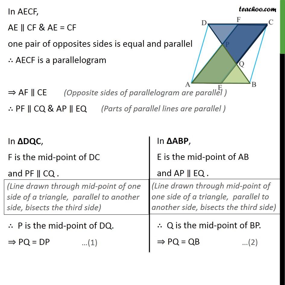 Ex 8.2, 5 - Chapter 8 Class 9 Quadrilaterals - Part 2