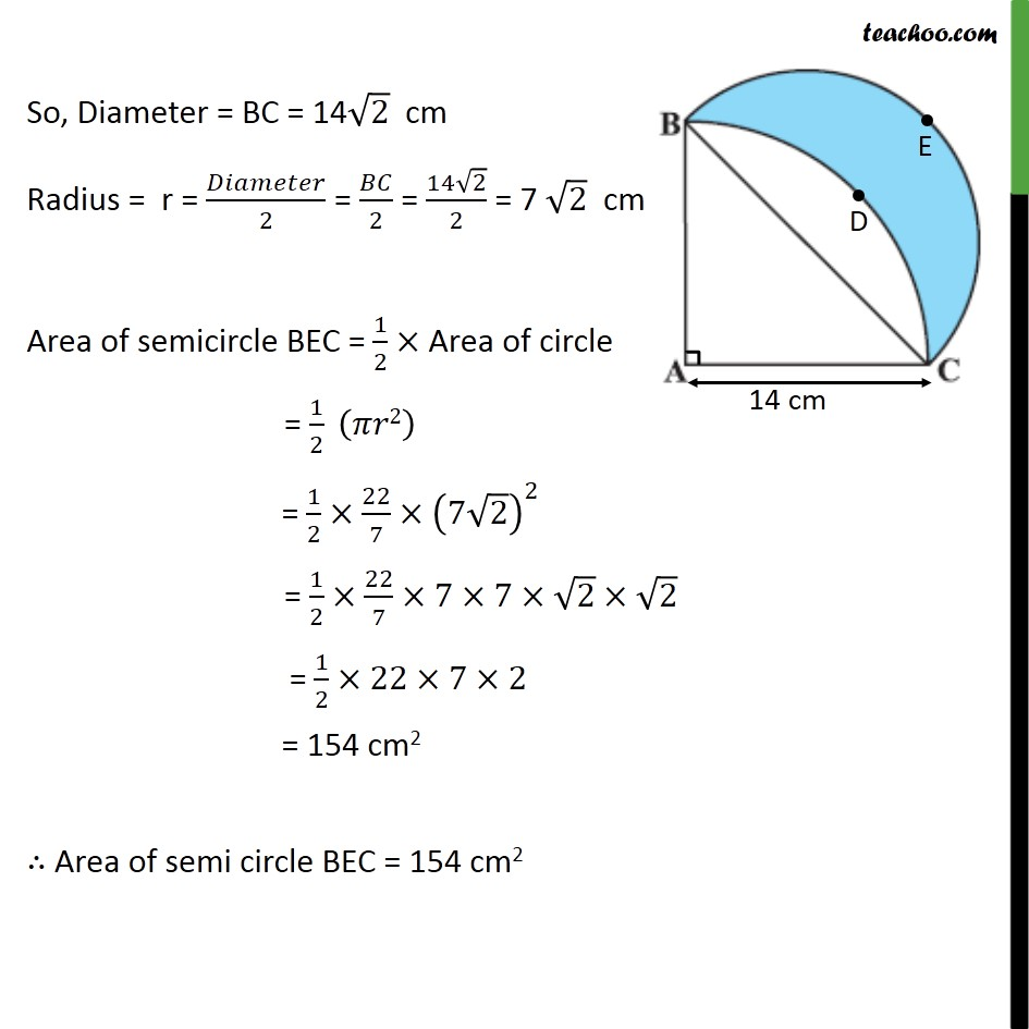 Ex 12.3, 15 - Chapter 12 Class 10 Areas related to Circles - Part 4