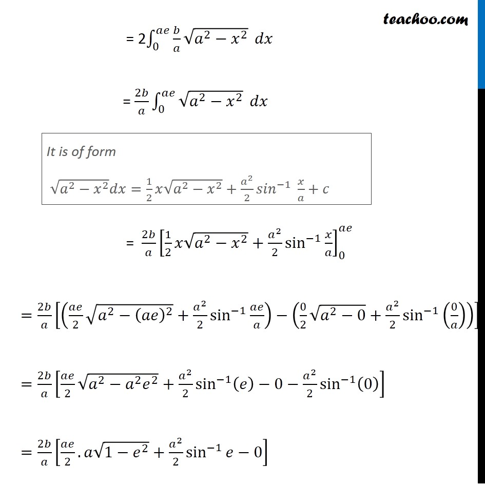 Example 5 - Chapter 8 Class 12 Application of Integrals - Part 3